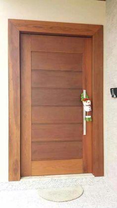 55 New Ideas For Modern Front Door Entrance Wood Exterior Colors Flush Door Design, Door Gate Design, Room Door Design, Door Design Interior, Wooden Front Door Design, Modern Front Door, Wooden Front Doors, Custom Exterior Doors, Internal Wooden Doors