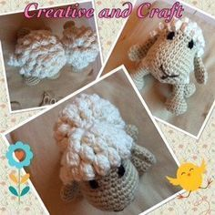 Patrones amigurumi, crochet, punto, manualidades - Creative and Craft Crochet Dog Patterns, Crochet Cow, Crochet Teddy Bear Pattern, Kawaii Crochet, Crochet Rabbit, Amigurumi Patterns, Crochet Animals, Free Crochet, Crochet Ideas