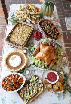 Thanksgiving Dinner - yeah baby!
