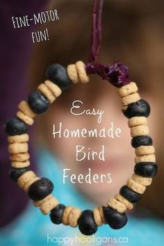 Easy peasy bird feeder!!