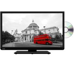 """Buy TOSHIBA 32D3453DB Smart 32"""" LED TV with Built-in DVD Player 
