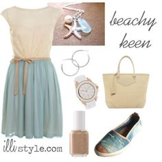 beachy keen outfit