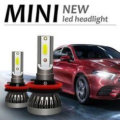 Automobile, Led Cob, Car Headlight Bulbs, Mini, Car Headlights, Power Led, Car Lights, All In One, Beams