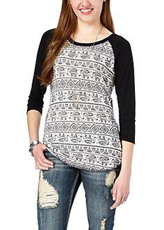 Long Sleeve Shirts for Juniors | rue21