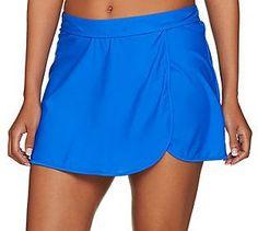 St. Tropez Swimwear As Is St. Tropez Wrap Skirt Swimsuit Bottom