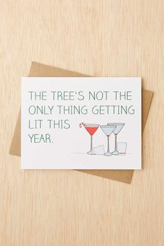 Get LIT | Funny Holiday Cards That Wont Make You Cringe | StyleCaster