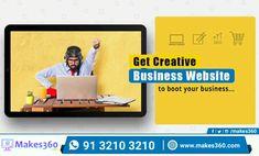 Makes360 - digital service provider. Android Application Development, App Development, Business Website, Online Business, Blog Maker, Web Domain, Data Processing, Responsive Web, Create Website