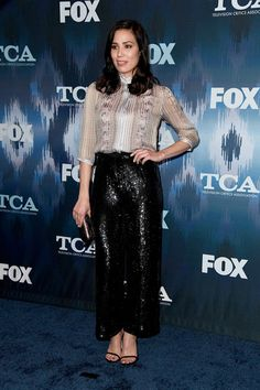 Michaela Conlin attends the FOX All-Star Party during the 2017 Winter TCA Tour at Langham Hotel on January 11, 2017 in Pasadena, California.