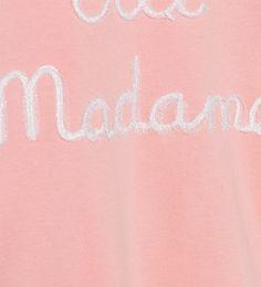 Imagem 4 de T-shirt com bordado em tule e brilhos da Zara