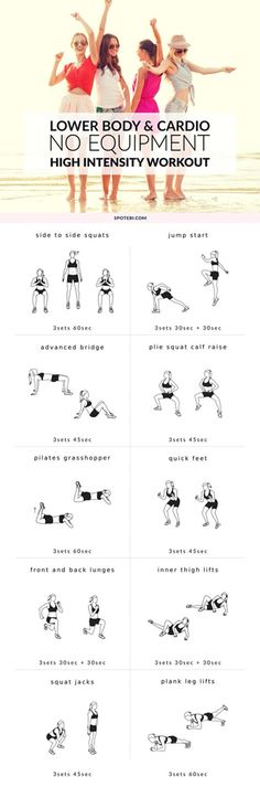 Lower Body and Cardio workout