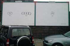 Audi and Mercedes