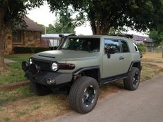 Camo Green plasti dip'd entire FJ - Page 7 - Toyota FJ Cruiser Forum