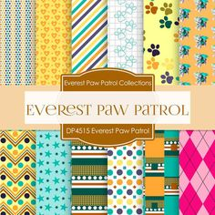 Everest Paw Patrol Digital Paper DP4515 - Digital Paper Shop - 1