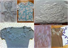DIY round-up ~~ 34 revamp t-shirt tutorials