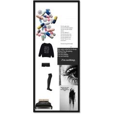 Aren't we all addicted to something that takes the pain away? by jayden-kurtz on Polyvore featuring polyvore, fashion, style, Aerie and Forever 21