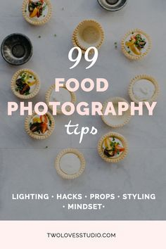 99 Food Photography Tips A collection of food photography tips from photographers at all stages of their creative journey Tips about lighting hacks props styling and mind. Photography Lessons, Food Photography Styling, Light Photography, Photography Jobs, Photography Hashtags, Digital Photography, Photography Backdrops, Photography Tutorials, Fashion Photography