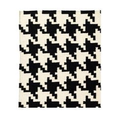 Prospect and Vine Cambridge Rug ($240) ❤ liked on Polyvore featuring home, rugs, black, patterned rugs, black rug, hand woven wool rugs, black wool rug and wool area rugs