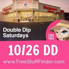 ***HOT Big List of 9 Possible Double Dip Deals at Walgreens Tomorrow (10/26)!