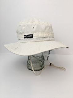 7a3306ad9dbd5 Vintage Columbia Hat XL Paddling Fishing Bucket Made In The USA EXCELLENT   Columbia  BucketHat