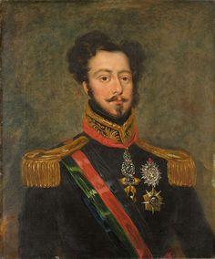 D. Pedro, Duque de Bragança provavelmente por João Baptista Ribeiro Cópia de época do retrato pintado em 1834 por  John Simpson Portugal, a partir de 1834 Palácio Nacional de Queluz