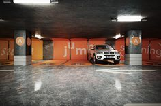 Parking concept proposalRendering & retouching by Atelier