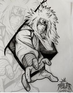Naruto Sketch, Naruto Drawings, Naruto Art, Dark Art Drawings, Tattoo Design Drawings, Tattoo Sketches, Japanese Tattoo Designs, Japanese Tattoo Art, Kakashi Tattoo