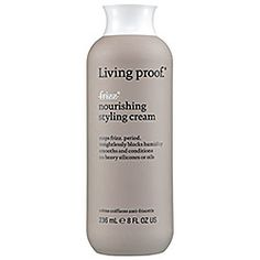 It seems like I've trie every product on earth to try to control my frizzy hair. This product is one of the first that has truly helped. Worked so well that I've ordered the shampoo and conditioner so I can give them a try, too.  Living Proof - Nourishing Styling Cream   #sephora