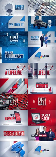 NBC4 PROMOS on Behance