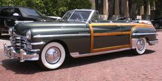 1949 Chrysler town and country convertible...