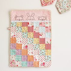 the perfect sleepy time doll quilt... by nanaCompany, via Flickr