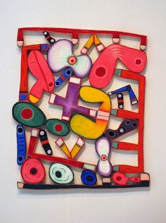 "Elizabeth Murray - Saw this and ""The Lowdown"" at Pace Wildenstein a few years back. Amazing experience."