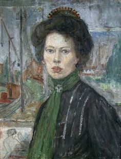Svarstad, Anders Castus : Den svenske malerinne Tora Holmström 1907