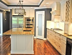 Wall by Porter Paint color 555-6 Volcanic Ash. Beautiful!