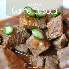 Carne Guisada (in the Instant Pot)
