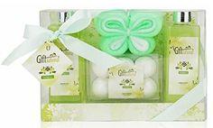 Spa Gift Basket with Seductive Vanilla Fragrance - Perfect Wedding, Birthday, Anniversary or Graduation...
