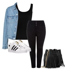 """""""Untitled #20"""" by oneemmad ❤ liked on Polyvore featuring Twenty, New Look, adidas and Whistles"""