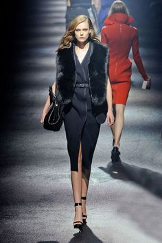 Lanvin Fall 2012  The next chapter was dark glamour.    check out:  http://whitepagestyle.blogspot.com/