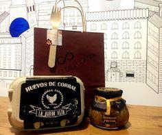 8,75€ HUEVOS CAMPEROS 1/2 DOCENA + HONGOS FRITOS EN ACEITE DE OLIVA  Sorprende a tus anfitriones con este pack. #regalosoriginales #regalospersonalizados #comida