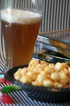 Harry Potter Party, including a recipe for Butterbeer