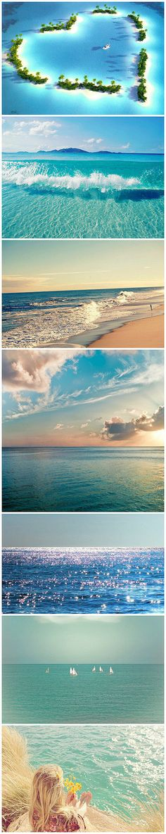 I LOVE the ocean in these pictures.