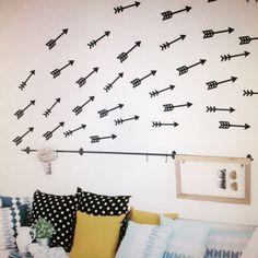 Arrow Wall Decals #wallsticker #home #decoration #decor #wallart #living #kidsroom #children