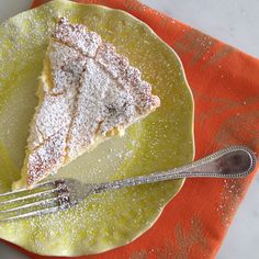 Lemon-Ricotta Crostata with Mascarpone A lovely dessert for Easter or simply to welcome spring, this rustic crostata would be made with sheep's milk in Abruzzo, the region where my family is from.