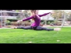 ▶ How To Do A Split Leap With Coach Meggin! - YouTube Carpet leap drill near end