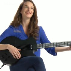 This re-invented futuristic guitar will have you playing songs in minutes. #HowTo