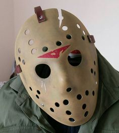 Check out this item in my Etsy shop https://www.etsy.com/uk/listing/478137835/jason-voorhees-mask-friday-the-13th-part