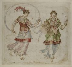 Costume design  Place of origin: [Firenze], Italy (made)  Date: 1588-1589 (made)  Artist/Maker: Bernardo Buontalenti, born 1526 - died 1608 (artist)  Materials and Techniques: pen and bistre with watercolour  Credit Line: Given by the National Art-Collections Fund  Museum number: E.614-1936  Gallery location: Prints & Drawings Study Room, level D, case DT, shelf 101