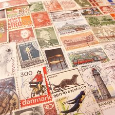 Classic stamps from Denmark
