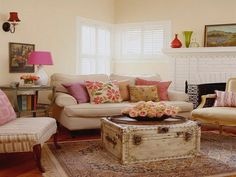 Country Living Room Decor - http://agmfree.com/0913/home-design-interior/country-living-room-decor/9646