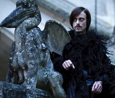 Mackenzie Crook as Cedric / Cornelius Sagin in BBC Merlin