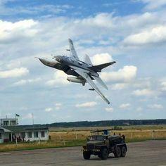 Sukhoi Su-24 ''Fencer'' Low pass